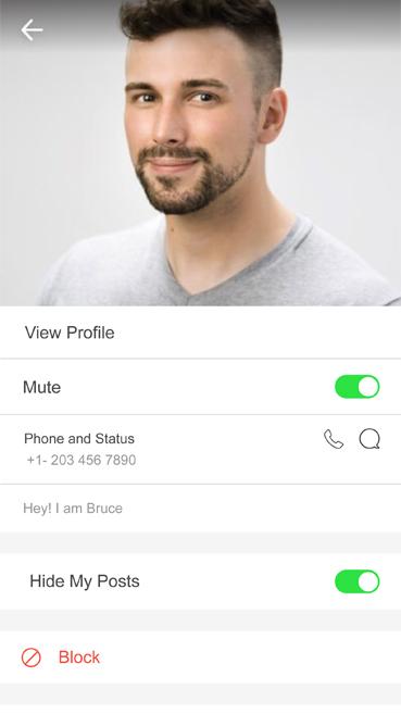 Star Chat app screenshot